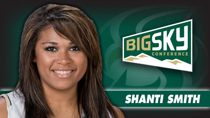 SMITH NAMED BIG SKY WOMEN'S BASKETBALL PLAYER OF THE WEEK