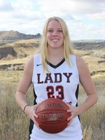 Julia Robarge, Women's Basketball, Sophomore, Guard, DCC