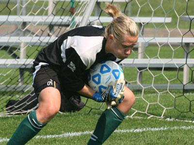 Senior Erin Herd Posts Third Straight Shutout in 0-0 Draw at Navy on Sunday