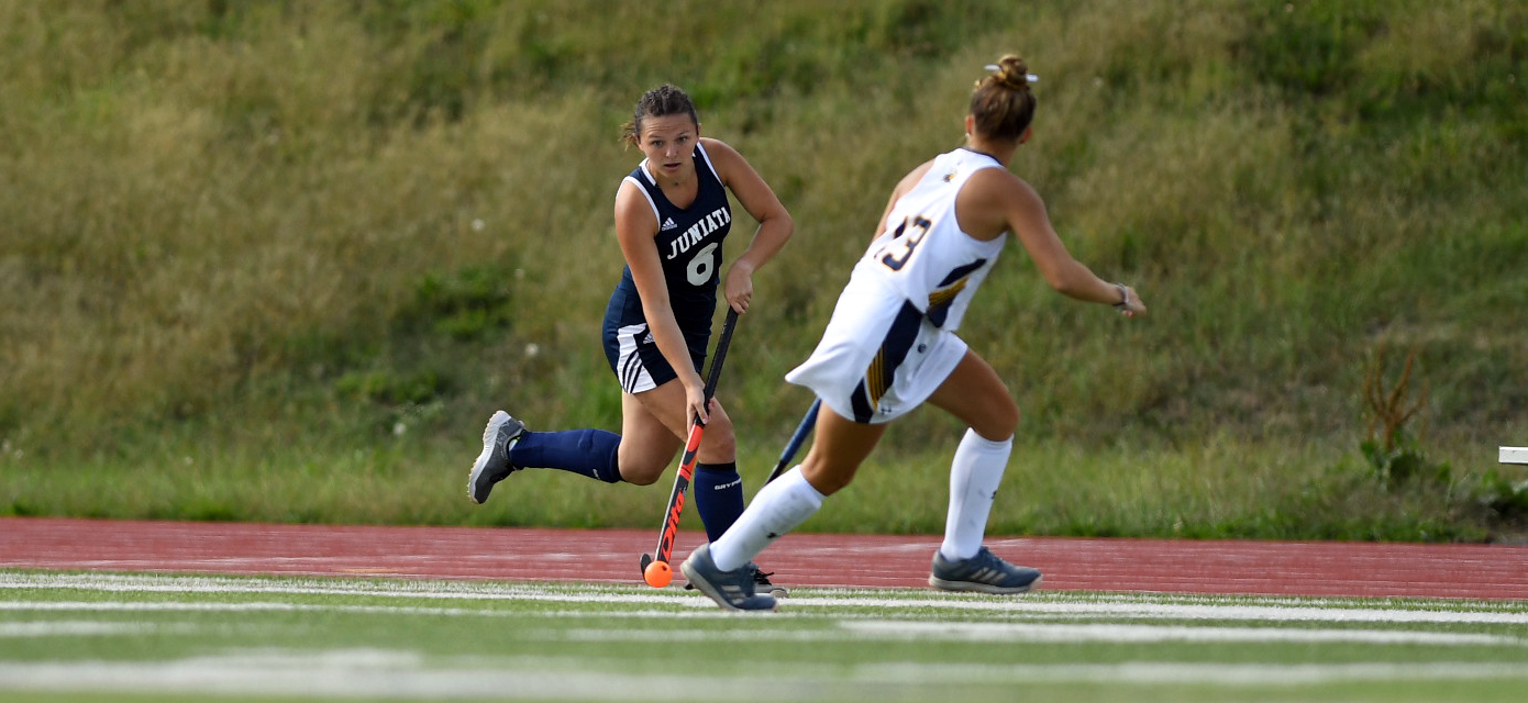 Catherine Lanigan scored the Eagles lone goal of the game, forcing double overtime.