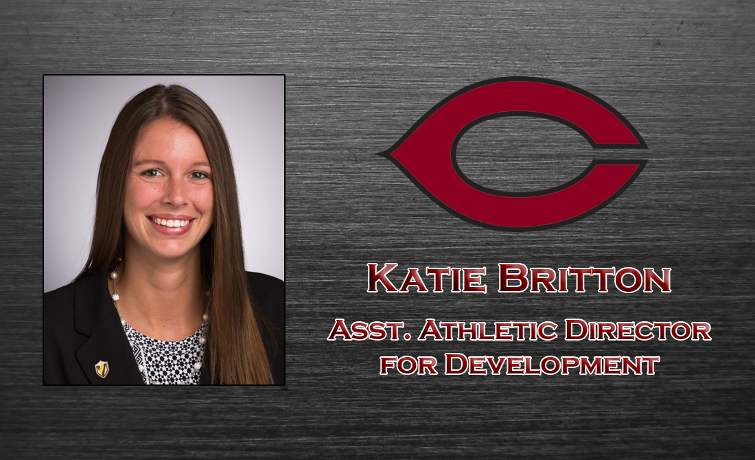 Katie Britton appointed as Assistant Athletic Director for Development