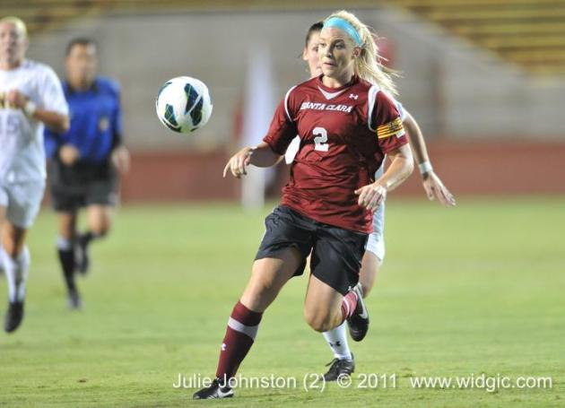 Julie Johnston Honored for Outstanding Weekend with WCC Player of the Week and Top Drawer Soccer Player of the Week