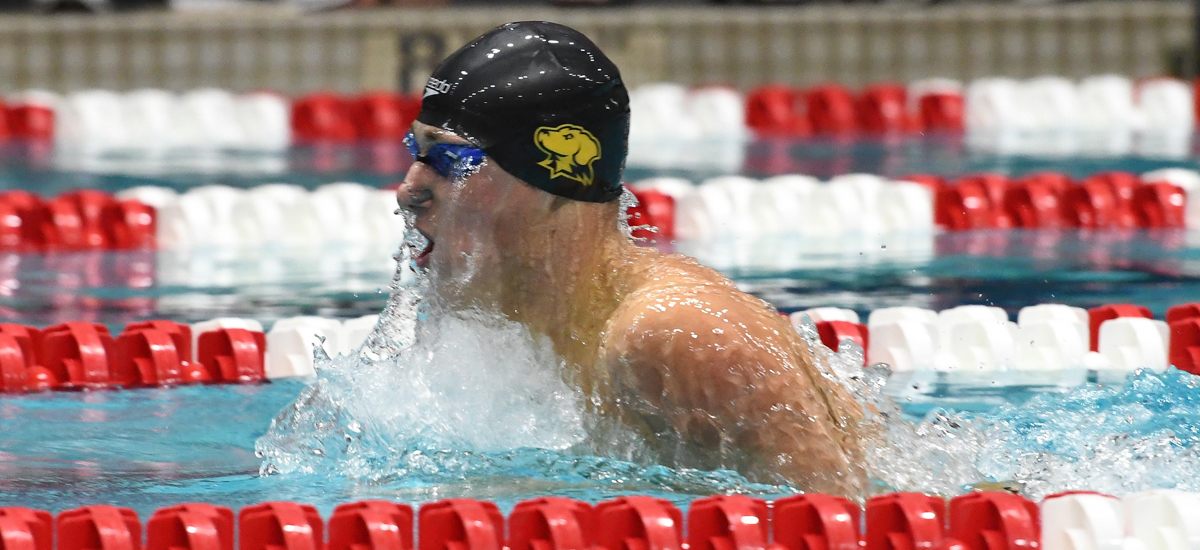 Trajkovic Sets School Record; UMBC Increases Lead Heading into Final Day of CCSA Championships