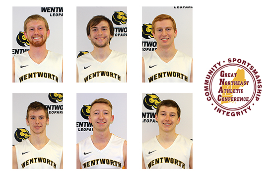 Six Men's Volleyball Players Earn All-GNAC Honors