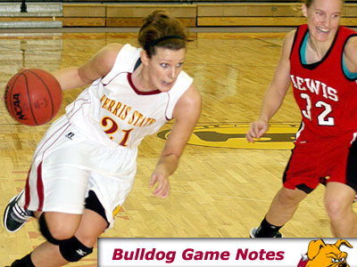 Kelsey DeNoyelles and the Bulldogs host GVSU Monday night (Pioneer Photo)