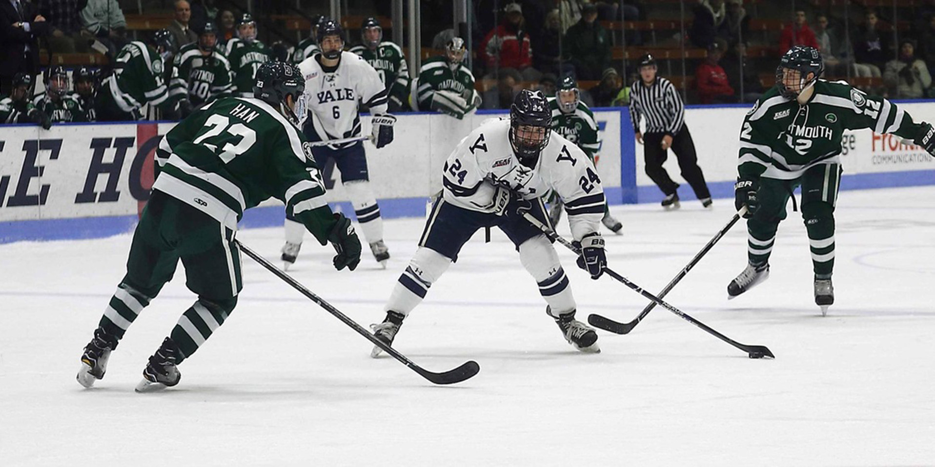 Gaus' OT Goal Advances Yale on to ECAC Quarterfinals