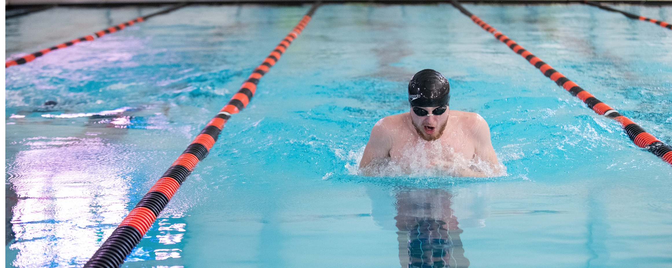 Mustang Men's Swimming Collect Two Wins