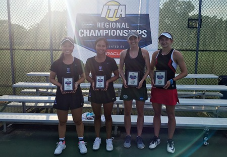 Grace Deering and Ally Persky of Washington University Earn Doubles Title at ITA Central Regional