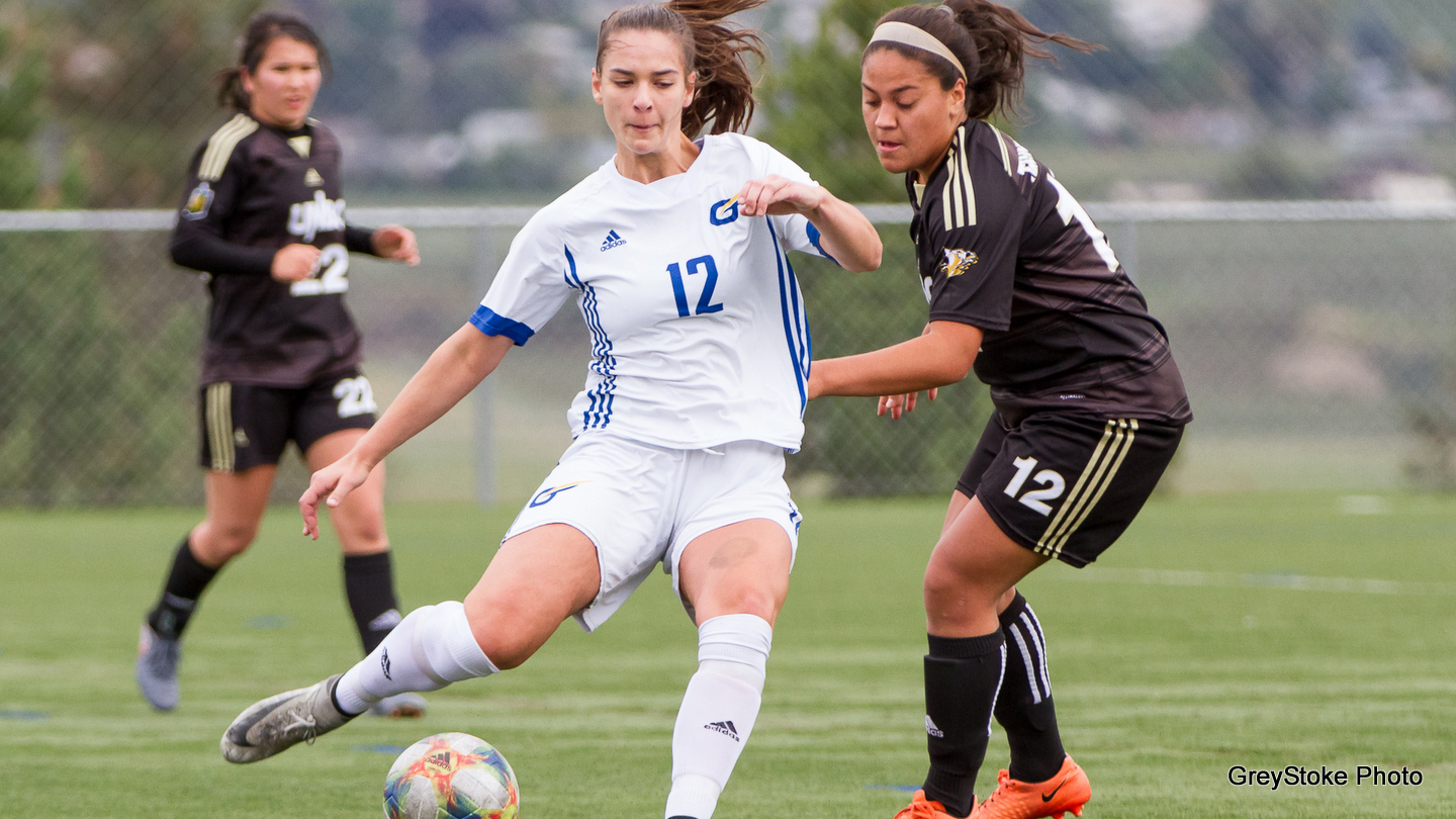 RECAP: Jillian Hunt and Erica Reis both score in 4-2 loss to UFV