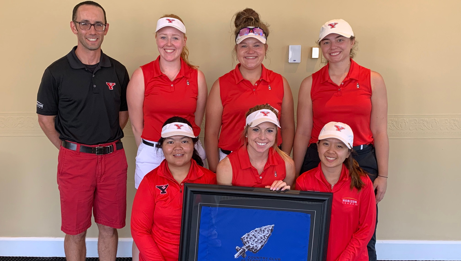 YSU Women's Golf finished second at the Indiana State Invitational on Monday.
