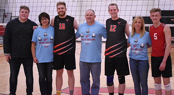 Senior Night Sweep For Men's Volleyball