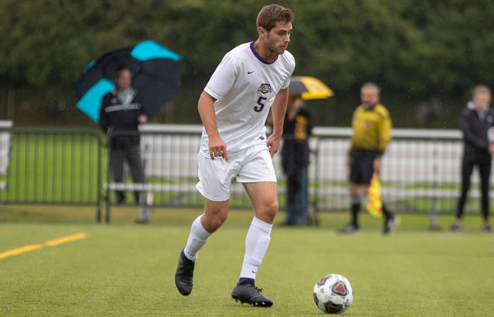 Purple Knights Grab 2-0 Victory Against Stonehill