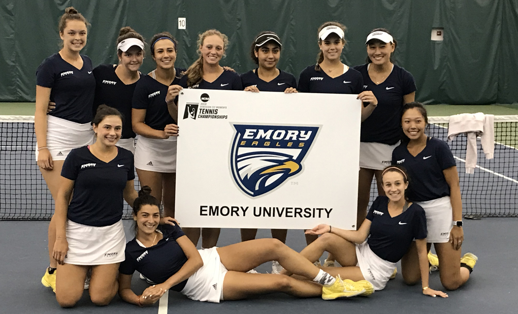 Emory Women's Tennis Advance to NCAA Quarterfinals with Win Over Washington & Lee