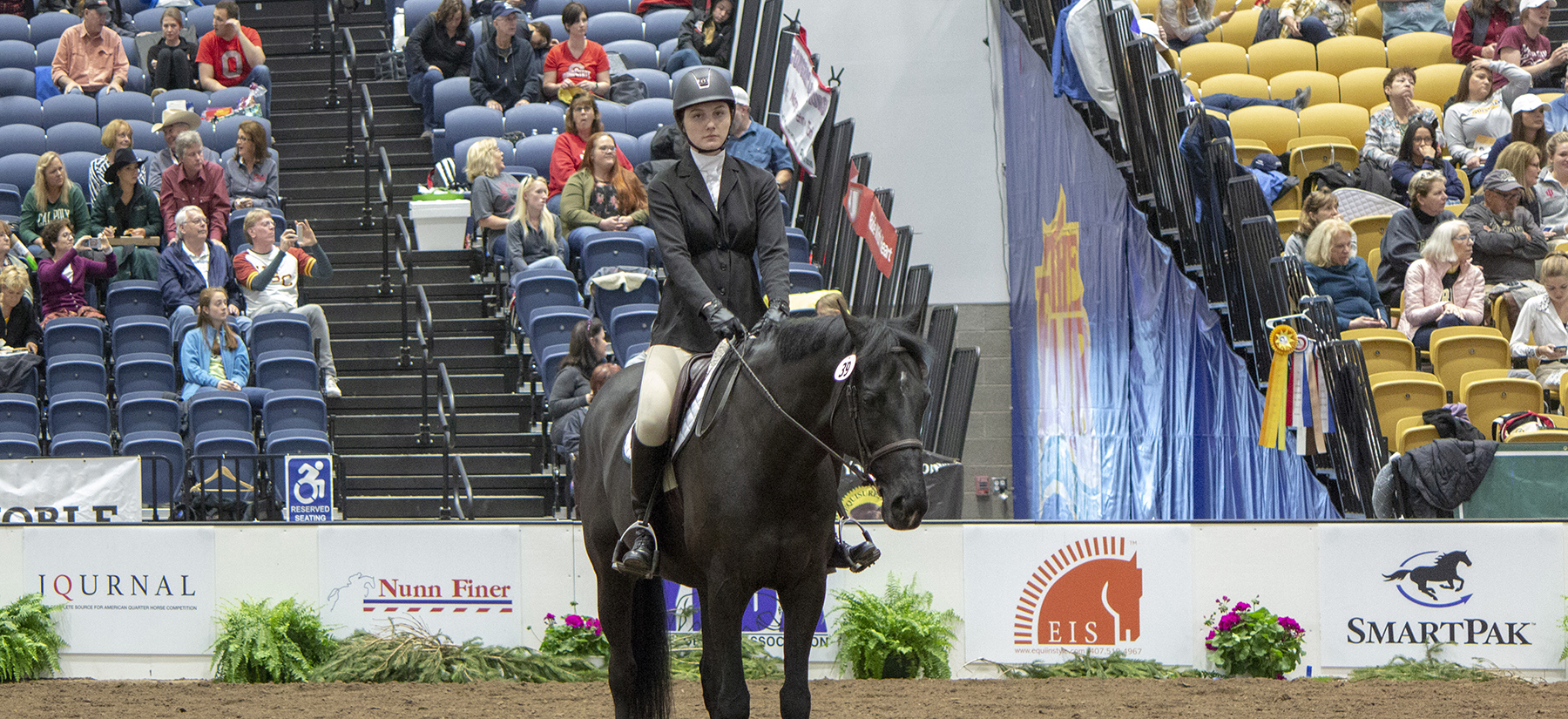 Dion Qualifies for IHSA Individual Championships While Equestrian Takes High Point Team at Hartford