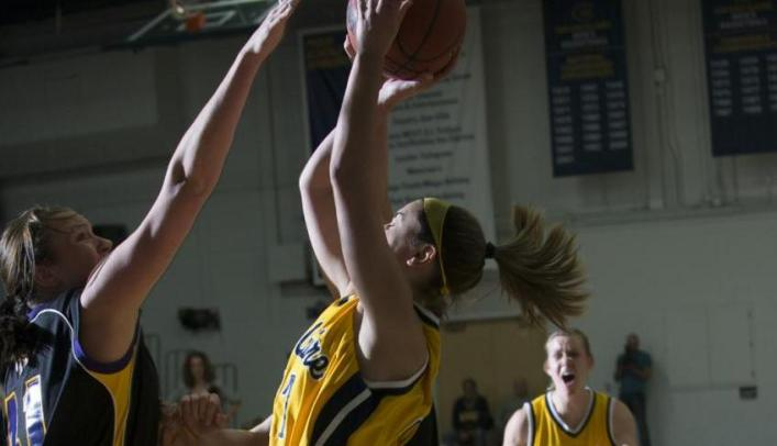 Titans Run Away with Win over Blugold Women's Basketball
