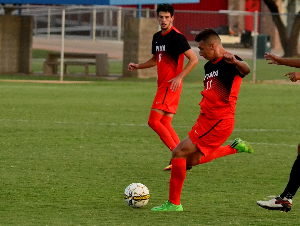 Aztec Men's Soccer Share the Wealth to Down Mesa; Cosgrove Gets Win No. 298