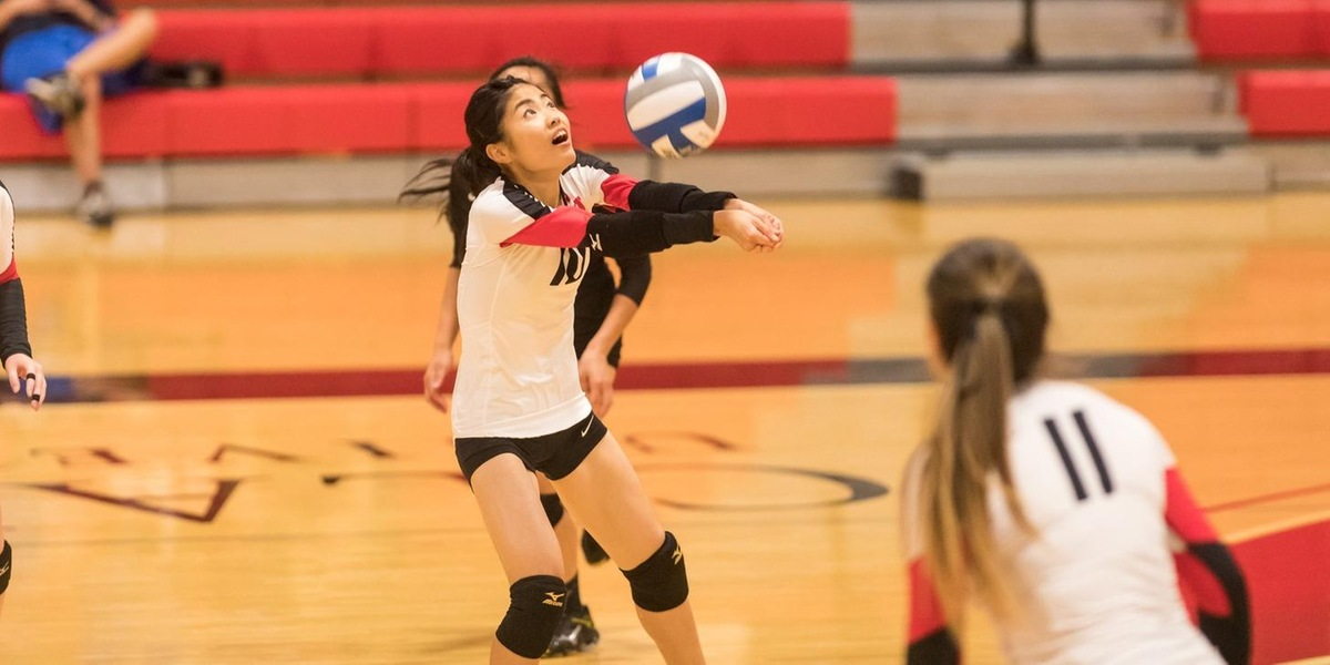 Volleyball Sweeps Rams and Lancers in Non-Conference Trimatch