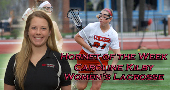 Q and A with Hornet of the Week Caroline Kilby