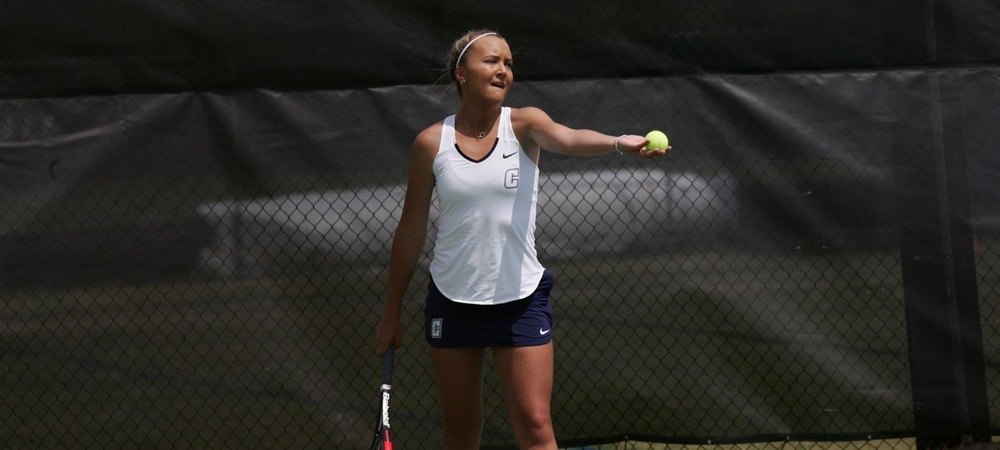 Women's Tennis Rides Doubles Play to Victory Over Catawba