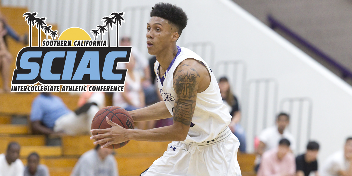 Eric Davis named SCIAC Athlete of the Week