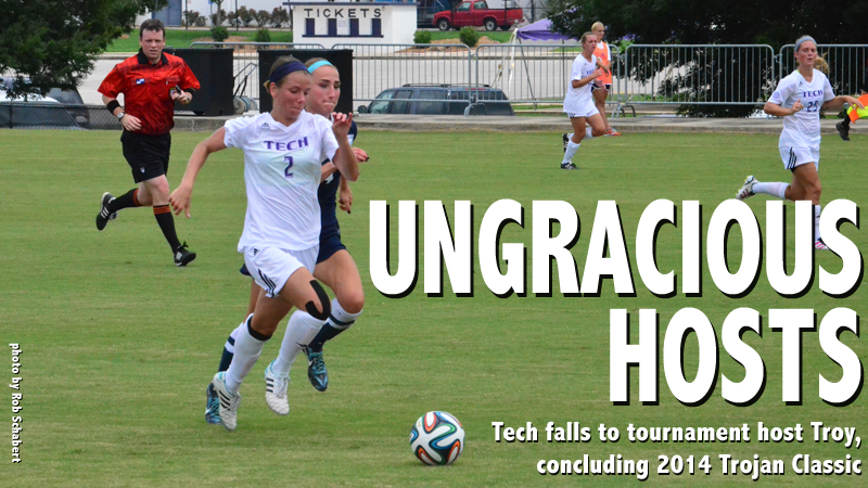 Soccer ends run at 2014 Trojan Classic with 3-0 defeat to host Troy