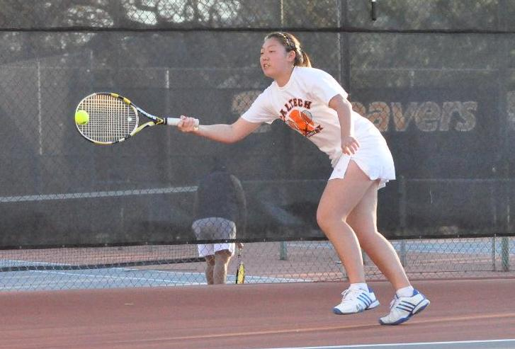 Yao Fronts Women's Tennis Challenge to No. 40 Trinity (Texas)