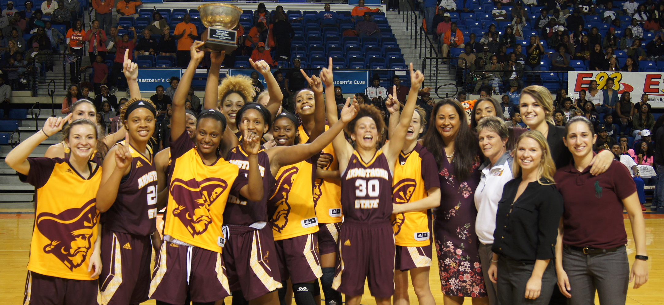 "Women's Basketball Picks Up 72-68 Overtime Win At Savannah State In ""Battle By The Marsh"""