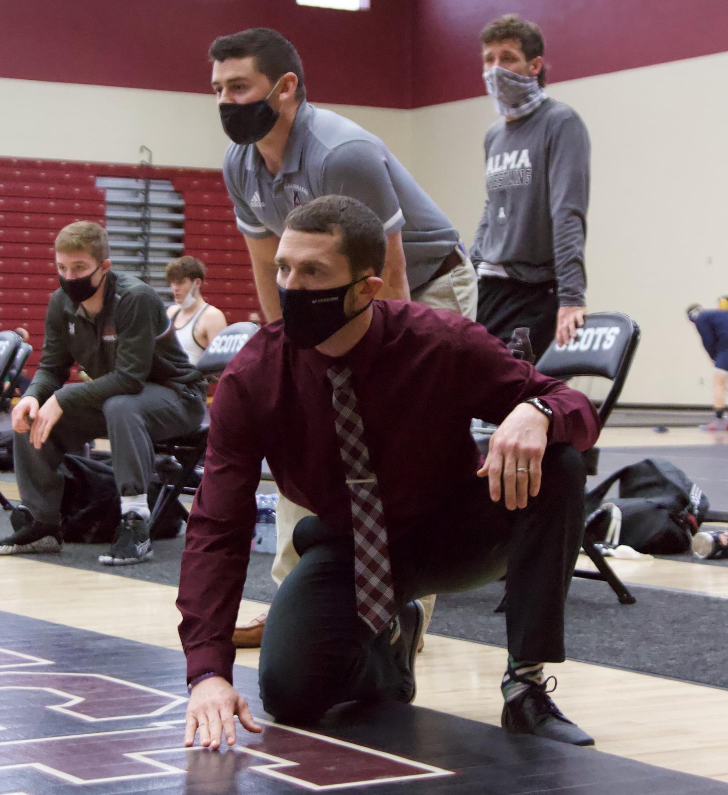 Tobias steps down as Alma head wrestling coach