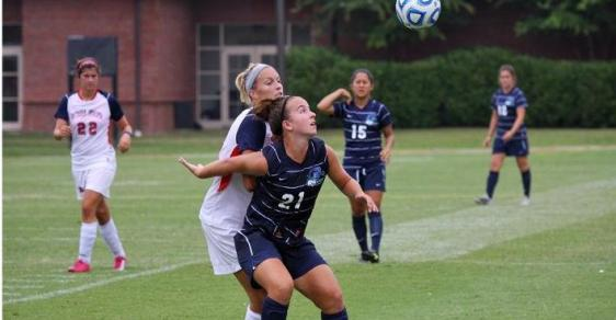 GC Soccer Drops Home Opener to Wingate, 2-1