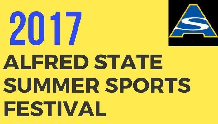 Alfred State Set to Host Summer Sports Festival