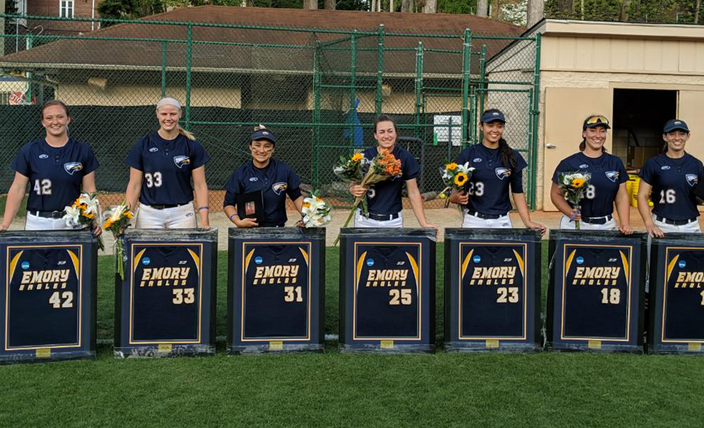Emory Softball Splits Senior Day Doubleheader vs. NYU