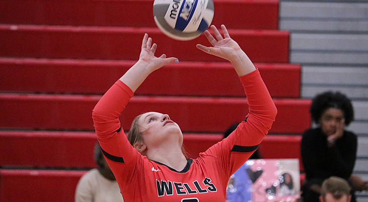 Women's Volleyball Wins Conference Opener