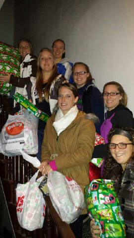 Sage's SAAC Group Makes a Difference for local Families this Holiday Season