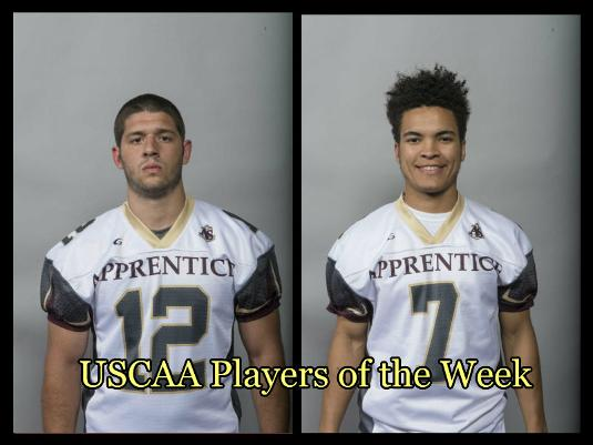 Pope and O'Neil Named USCAA Players Of The Week