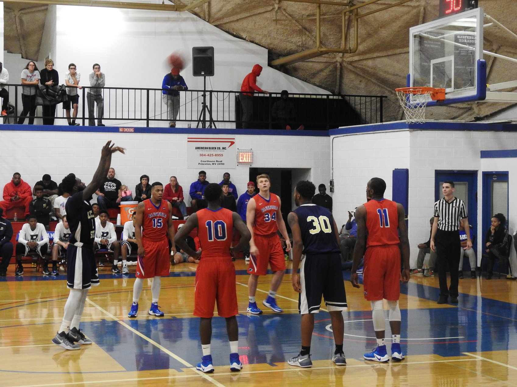 Big Blues Fall to Defending CIAA Champions