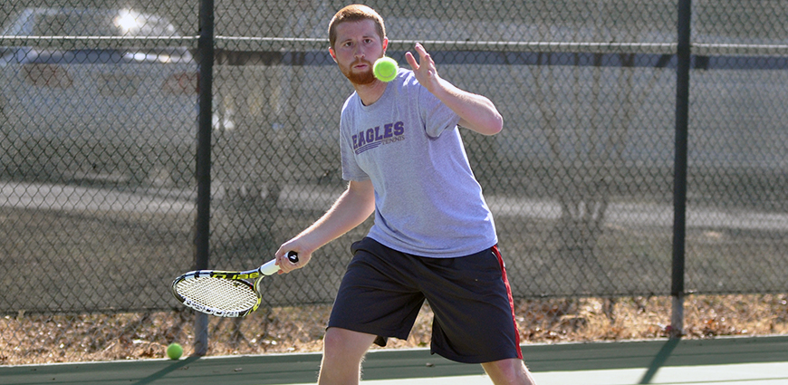 Men's Tennis Team Registers In-State Win Over NAIA John Brown University