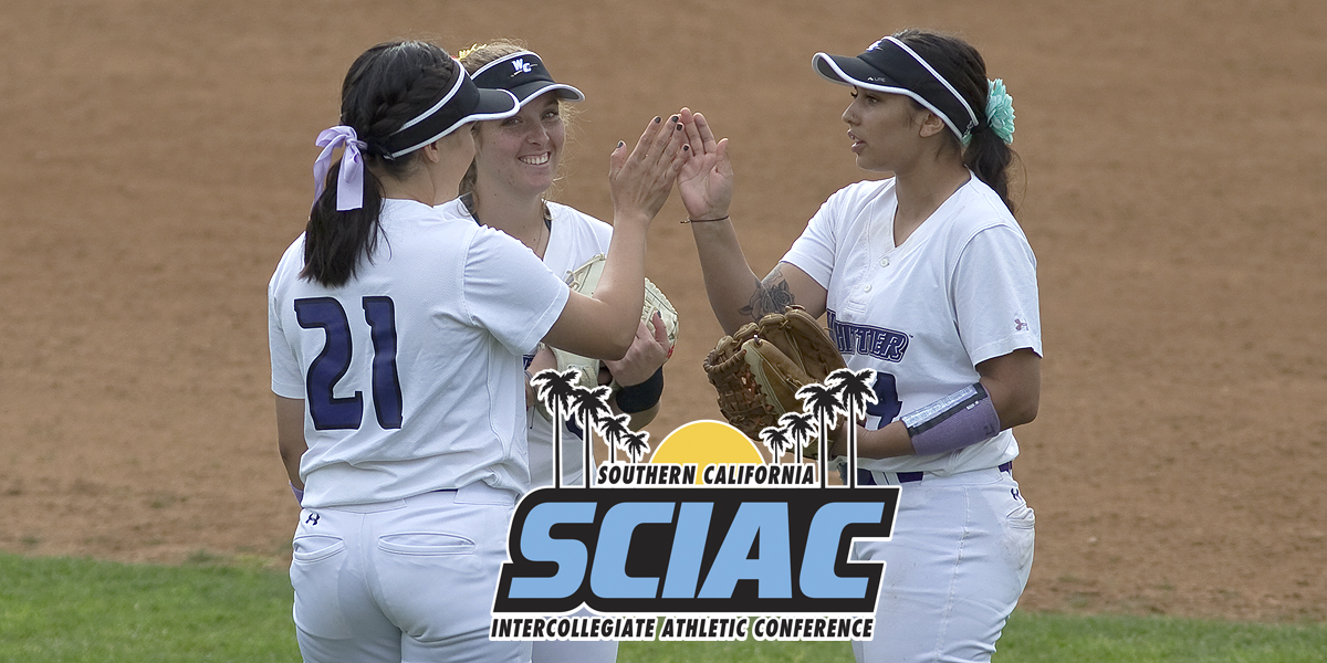 Softball lands five on All-SCIAC team