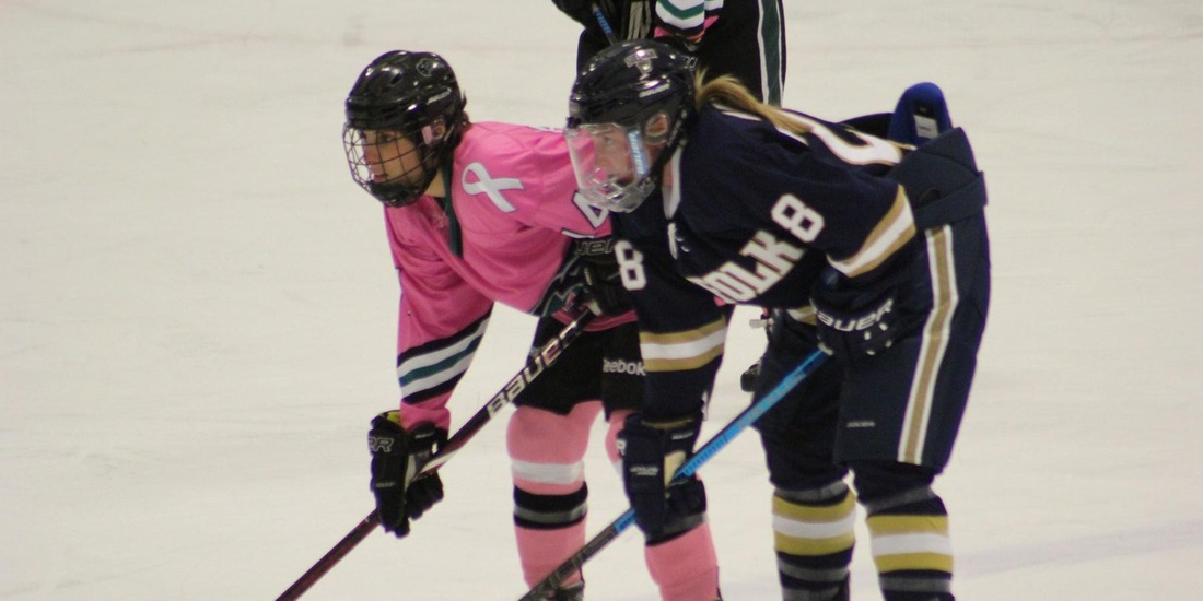 Women's Hockey Slips in Program Debut at Nichols, 5-2