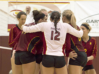 Ferris State Volleyball Moves Up To 17th
