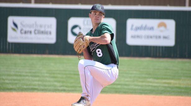 Saints dominate with pitching in sweep of Cougars