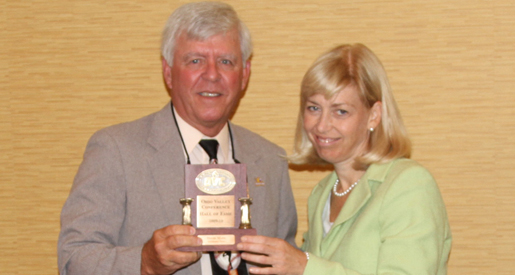 Tech's David Mays inducted into OVC Hall of Fame