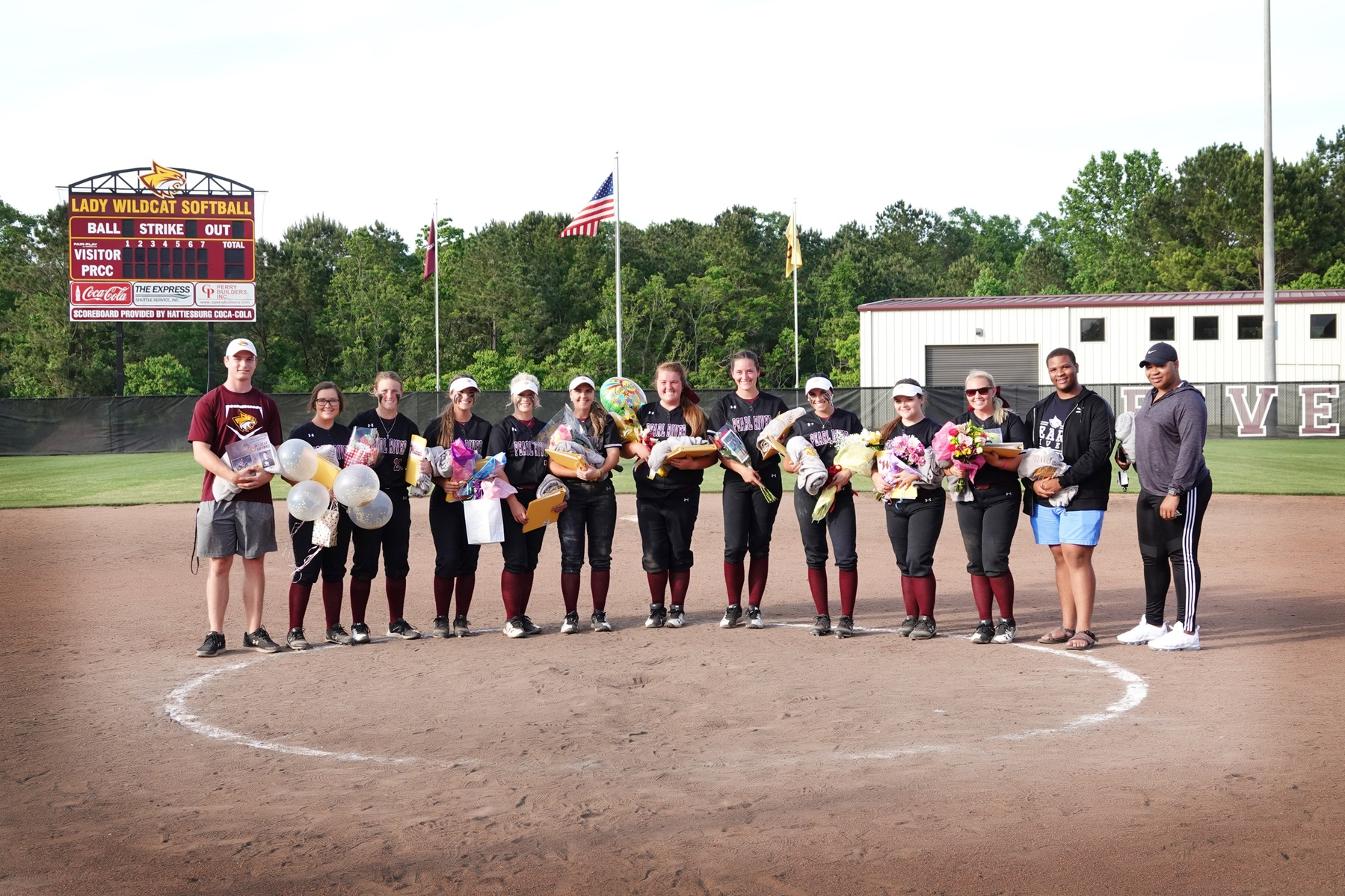 Pearl River softball honors sophomore class with sweep of Delta