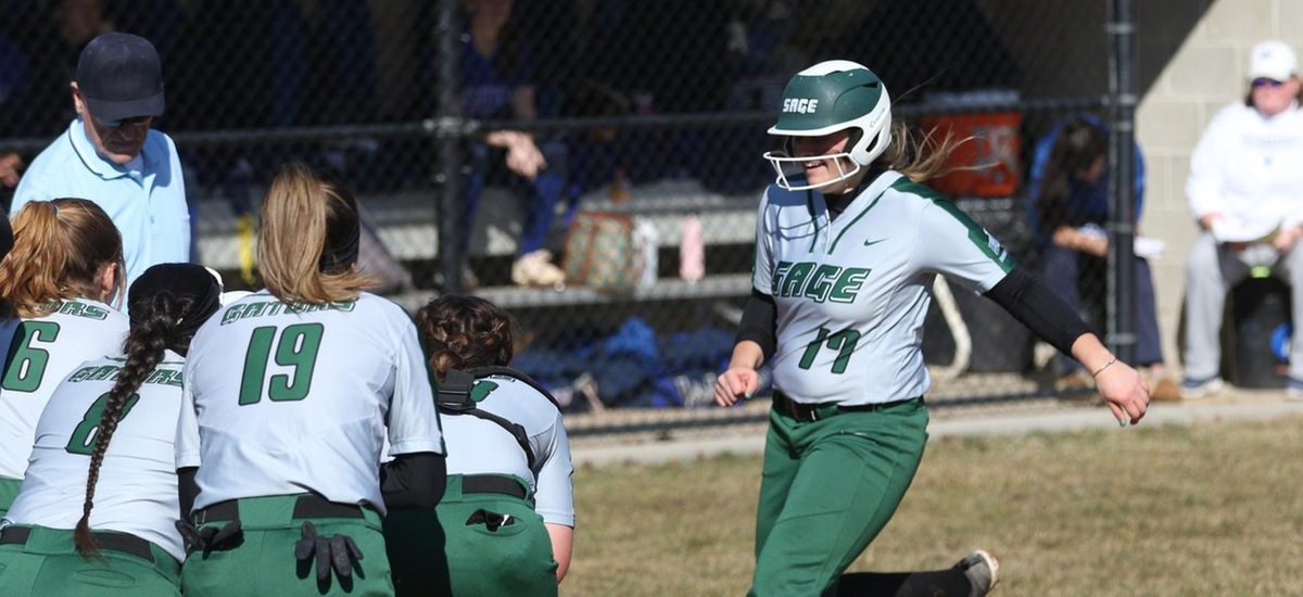 Sage softball DH at RPI Moved to Sunday, March 24