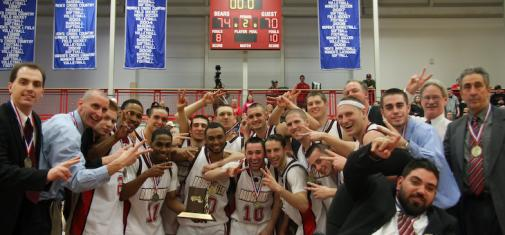 Top Seeded Bridgewater State Captures Second Straight MASCAC Men's Basketball Tournament Championship With 74-70 Overtime Victory Over Second Seeded Framingham State