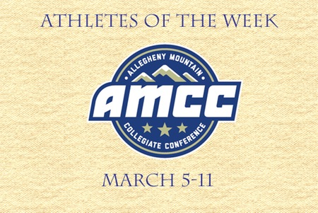 March 12th AMCC Athletes of the Week