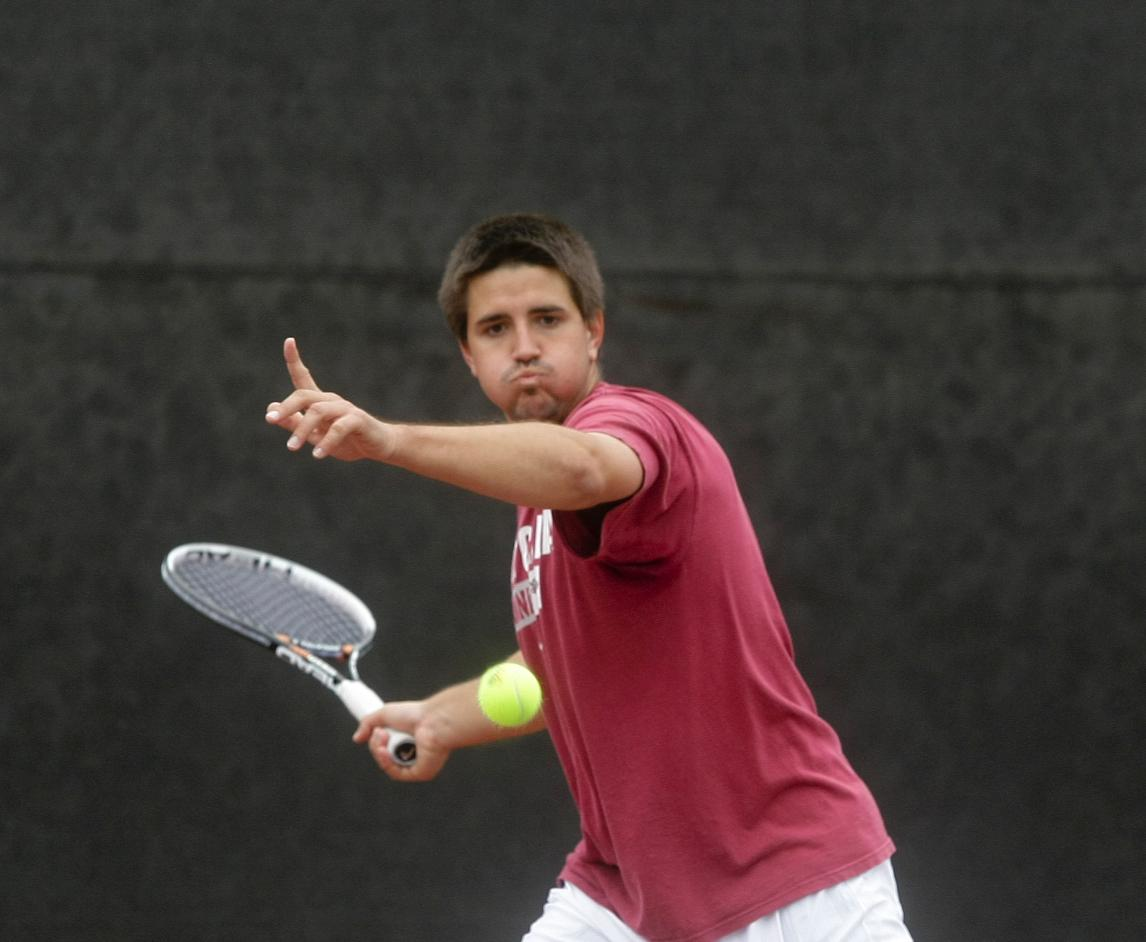 No. 60 Bronco Men's Tennis Hosts Final Two Regular Season Matches; Senior Day and BBQ on Sunday