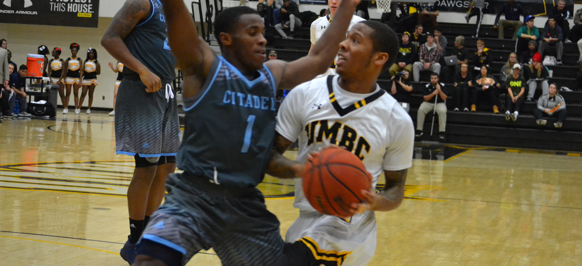 Men's Basketball Posts School Record in Scoring, Edges The Citadel, 120-111 in Double Overtime