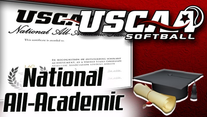 Trio of Lady Pioneers Named to the USCAA National All-AcademicTeam