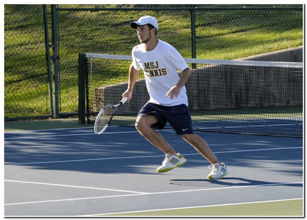Mount men's tennis upended at home by Indiana University East, 7-2