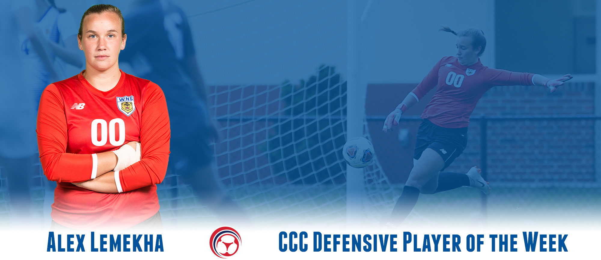 Alex Lemekha Earns Second CCC Defensive Player of the Week Award